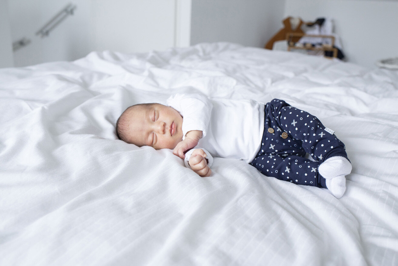 pasgeboren baby fotoshoot