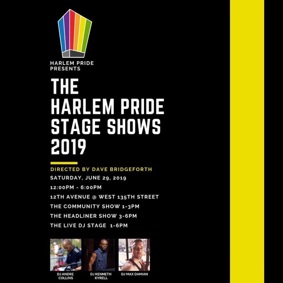 BTBB is one of the Headliners for the 10th Anniversary of Harlem Pride June 29th!