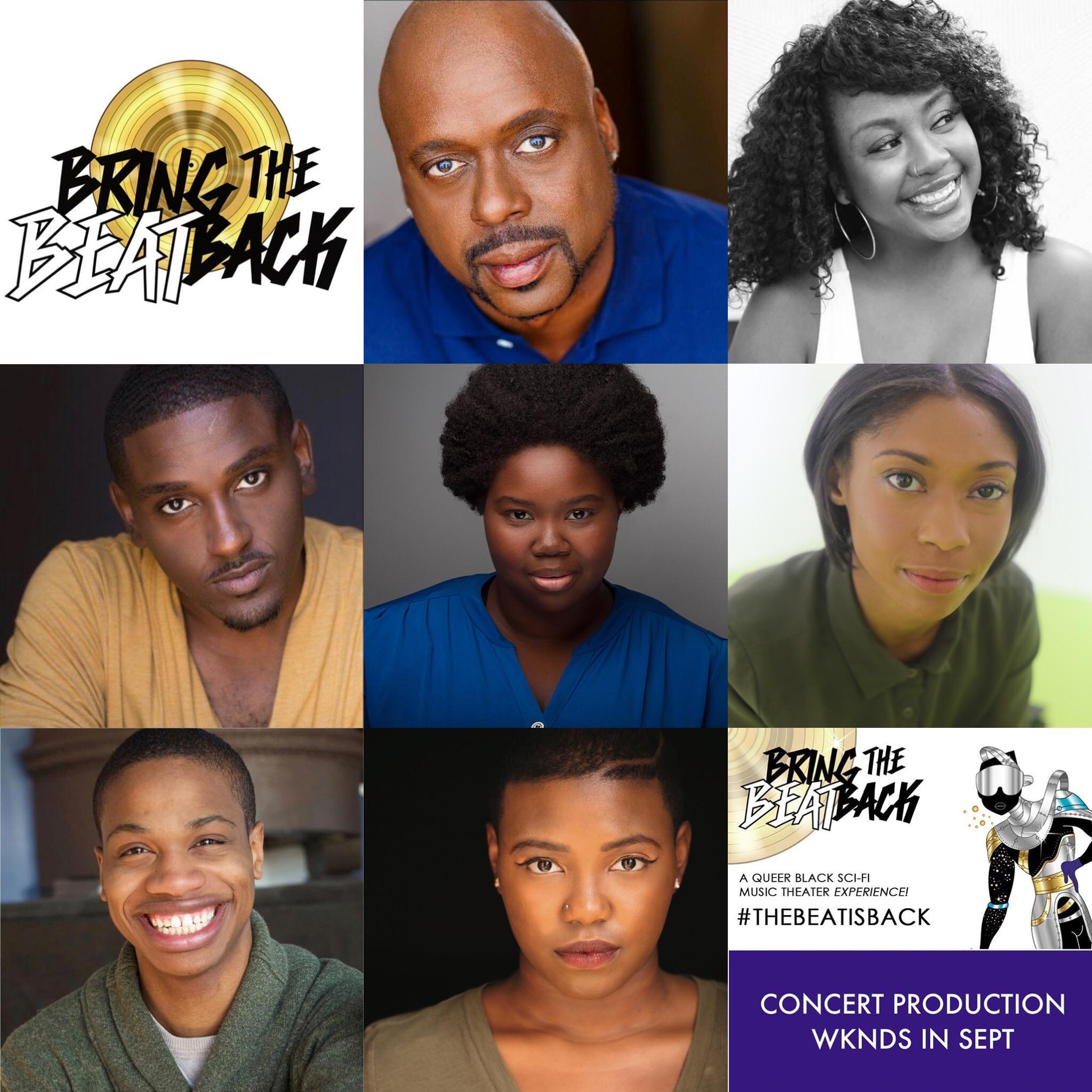 Our cast: Donald Fitzdarryl, Jasmine Marie Jones, Bernell Lassai, Dann R. Lynch, Tia Pinson, Donovan Session and Alexis Ward!