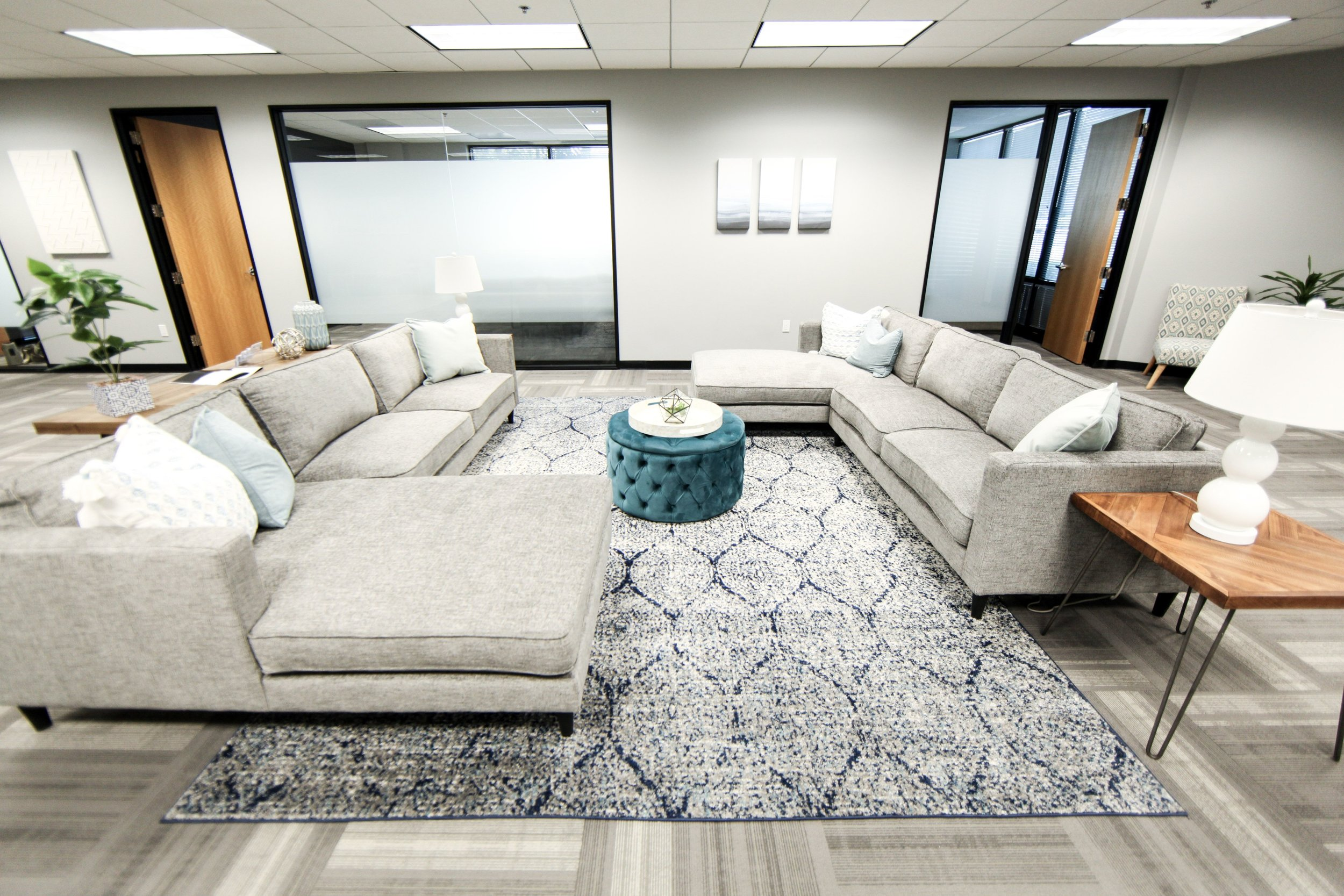 Treatment Room for Mental Health Counseling