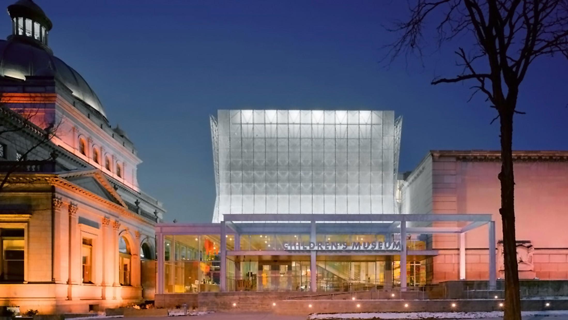 LUMEN WEST | AWARD OF MERIT 2006  Illuminating Engineering Society of North America for Children's Museum of Pittsburgh