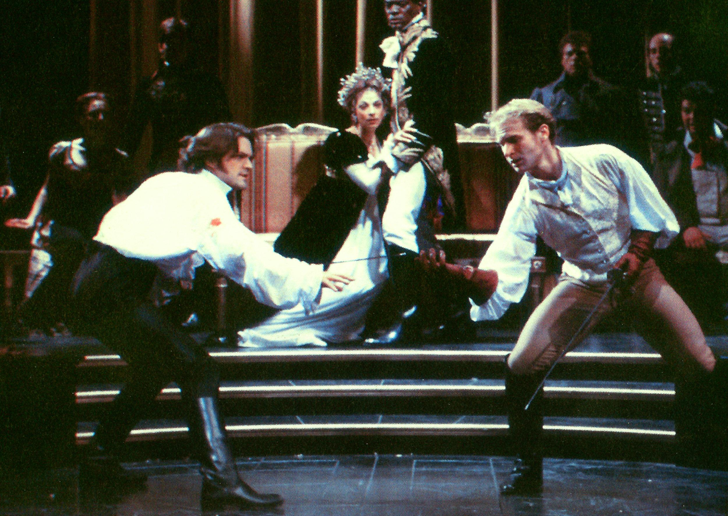 """JOSEPH JEFFERSON AWARDS 1998  Chicago Critics Theater Award – Best Lighting Design for """"HAMLET"""" Chicago Shakespeare Theater"""