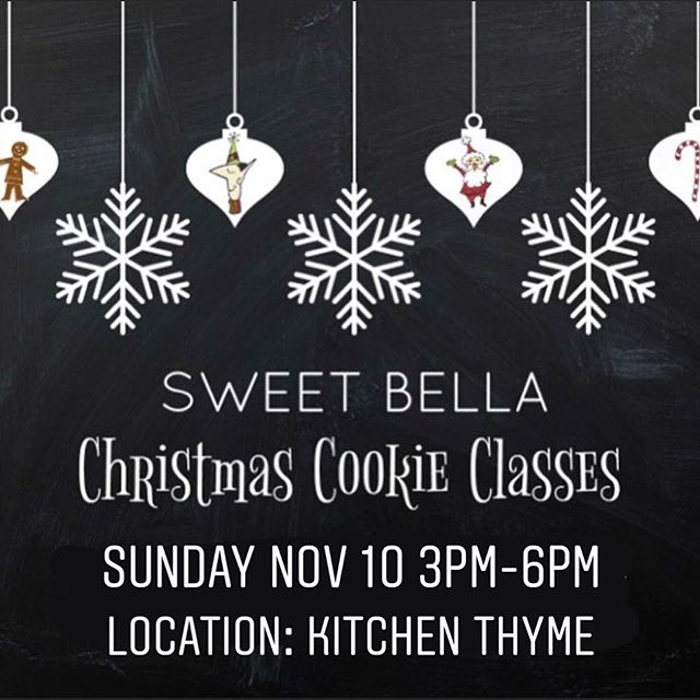 Last chance to take an SBB class in 2019! Don't wait! ⏳⏱💕🥰 #rva #rvaclasses #cookiedecorating