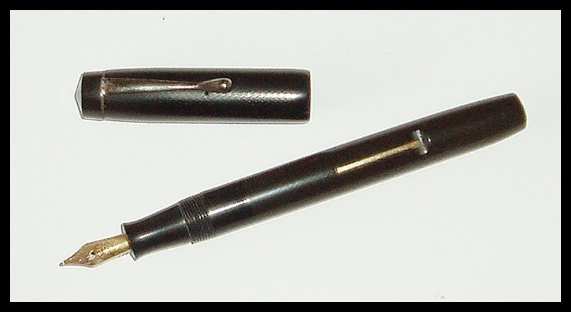 USA Original Parker 51 Vacumatic Section for Fountain Pen in Midnight Blue