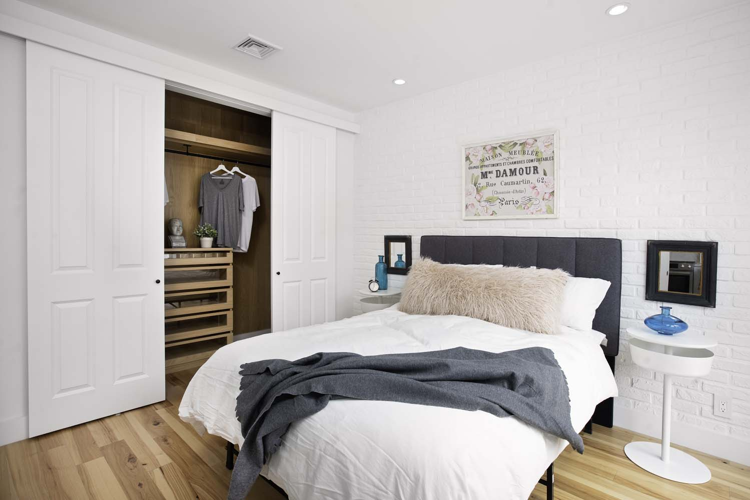 The bEDROOM that fits a king bed - Where dreams happen…
