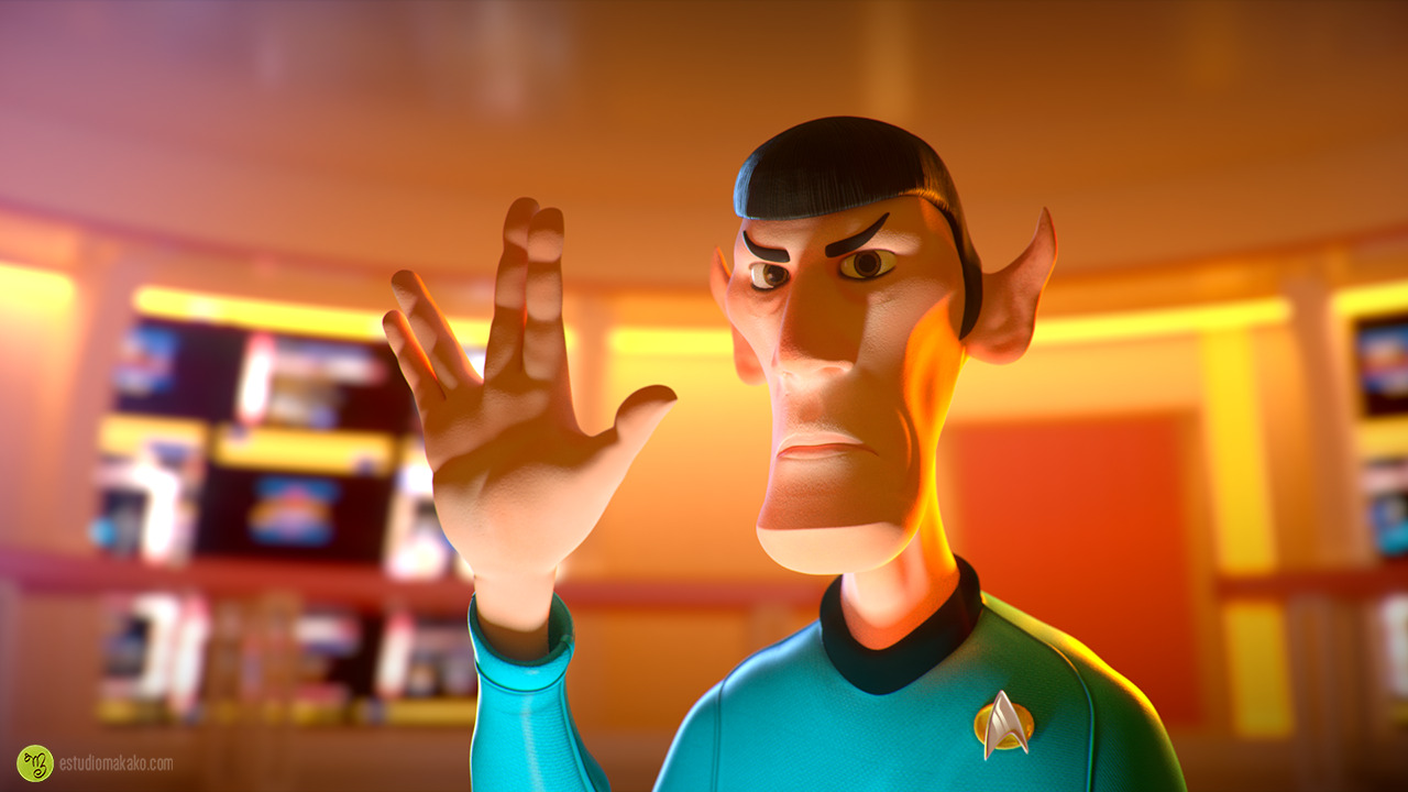 Live long and prosper, Mr.Spock