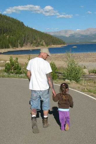 Father and Daughter Quality Time in Colorado -