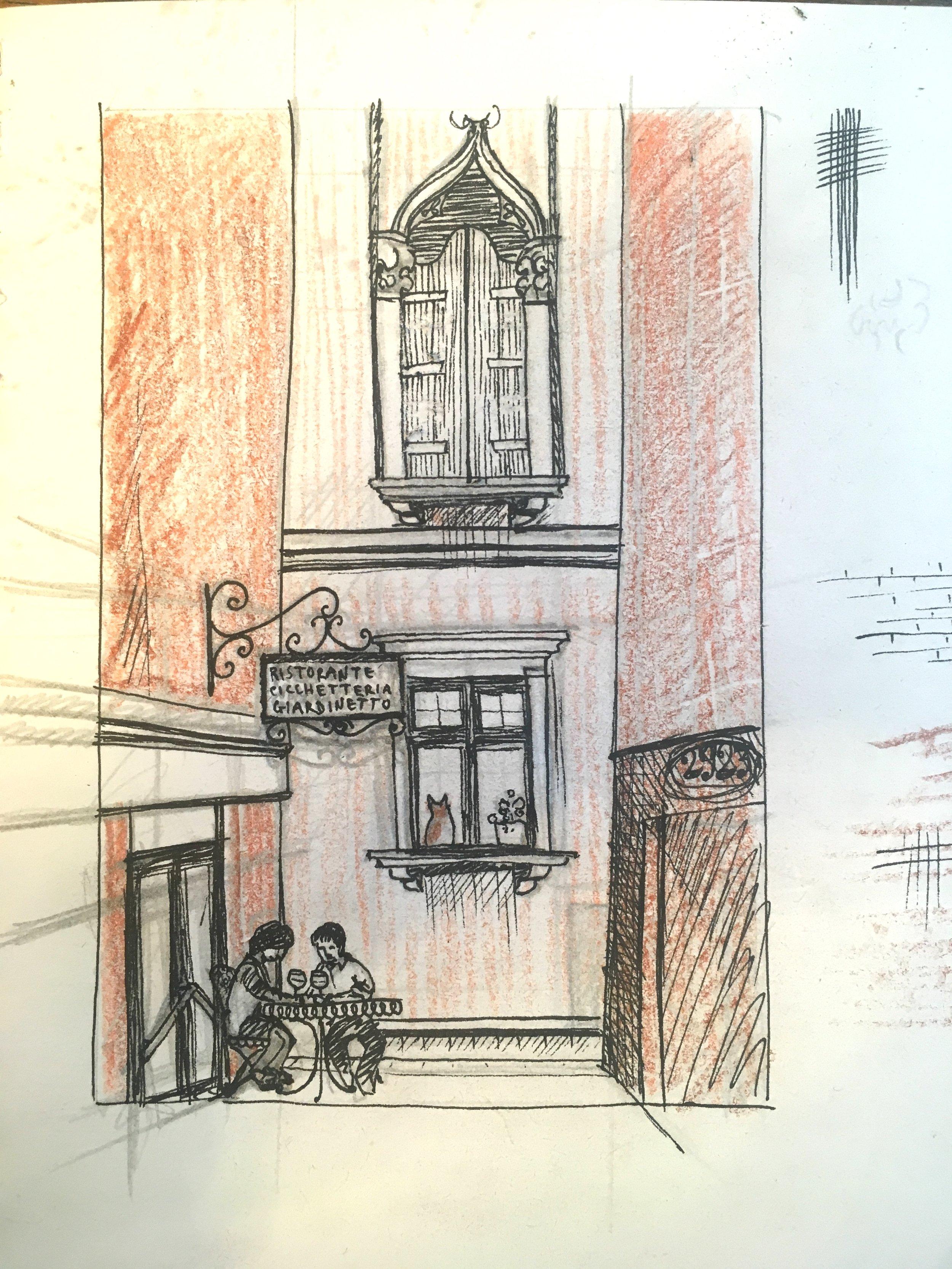An initial sketch