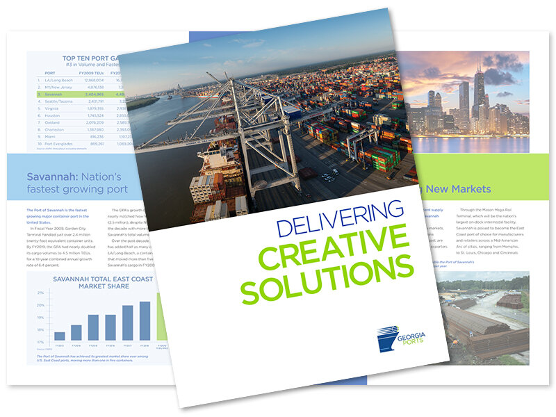 CLICK TO DOWNLOAD   2019 Georgia Ports State of the Port Brochure (PDF - 6 MB)