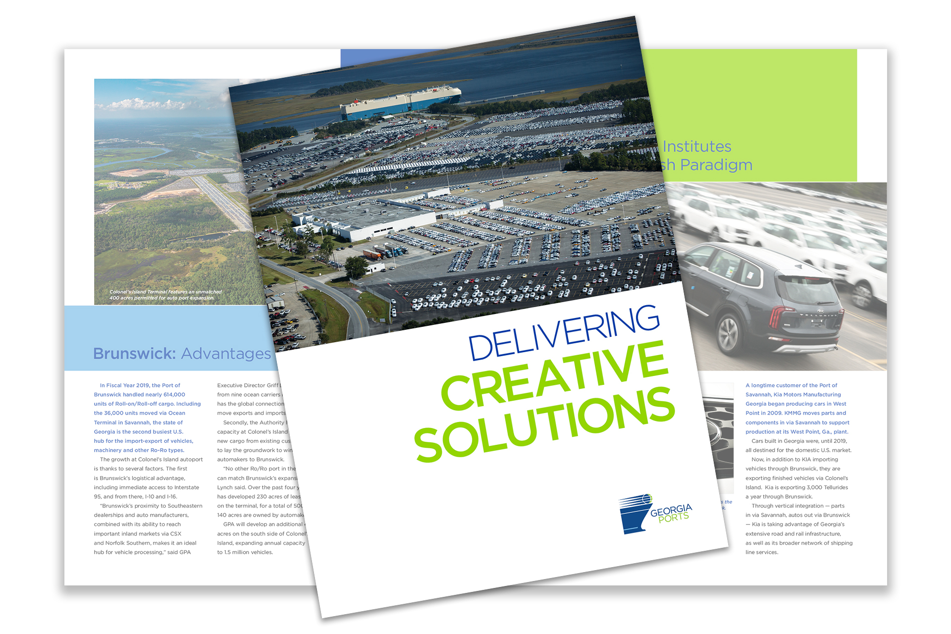 CLICK TO DOWNLOAD   2019 Georgia Ports State of the Port Brochure - Brunswick (PDF - 1.7MB)