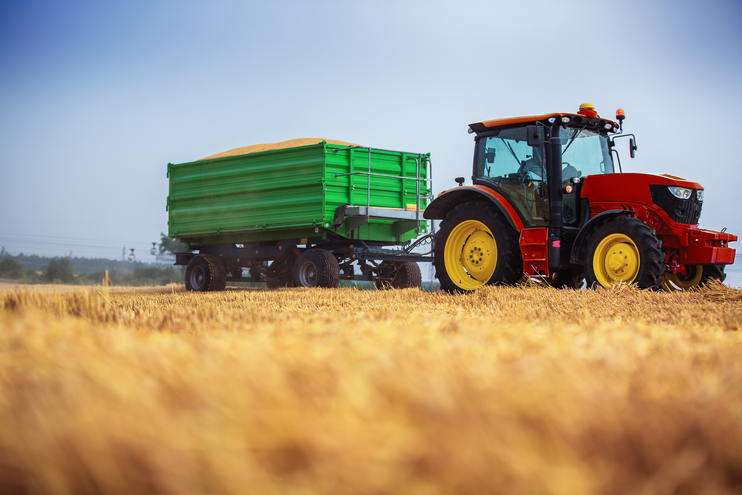 Track the location of your agriculture equipment with Ready Asset Tracking's gps tracking devices