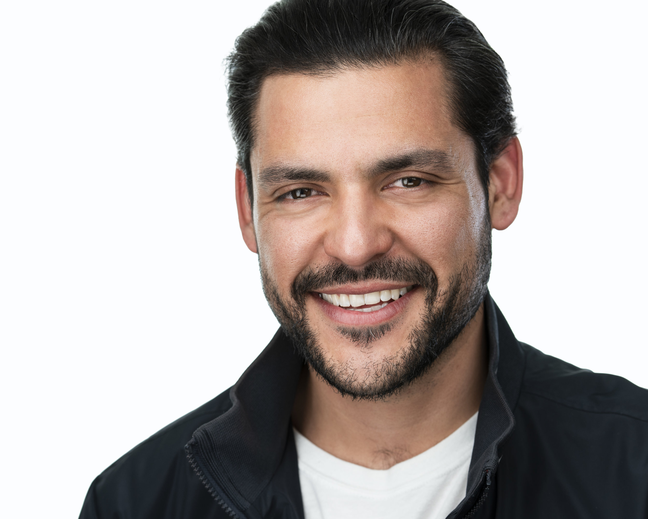 """""""Working with Lisa was a blast. She makes taking headshots so effortless. She keeps the mood funny and light."""" - _ Kenneth Trujillo, actor"""
