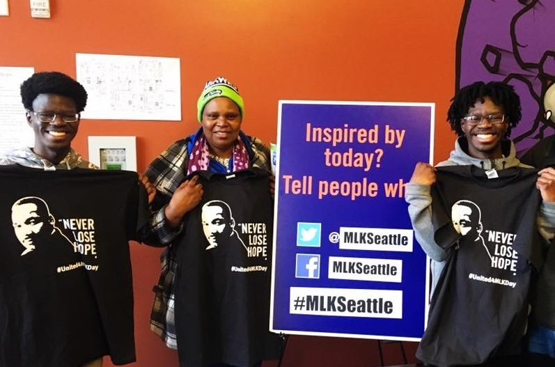 Volunteer! - Volunteers are key to successful MLK Day events.CLICK HERE to see all the ways you can volunteer, then sign-up yourself or a group.JOIN US and SHARE this information with everyone!