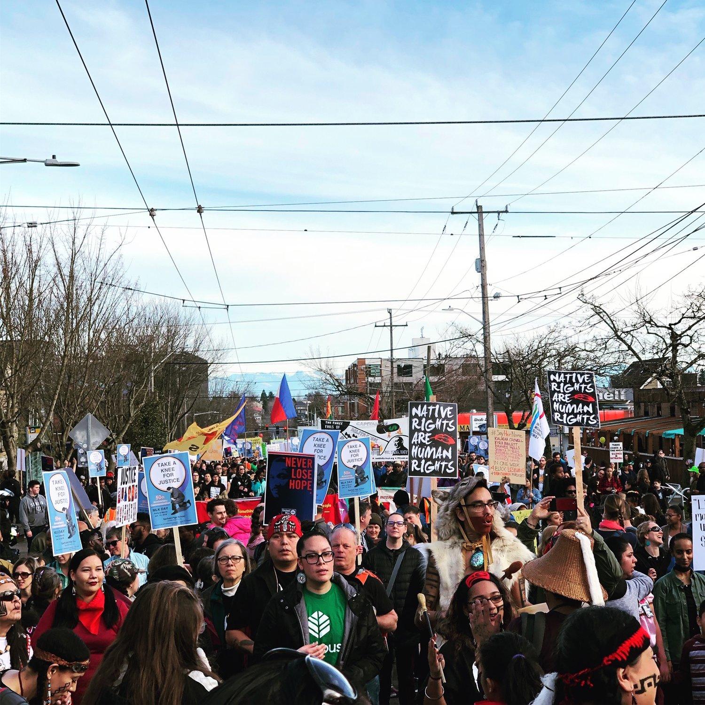 Seattle Protest Calendar 2021