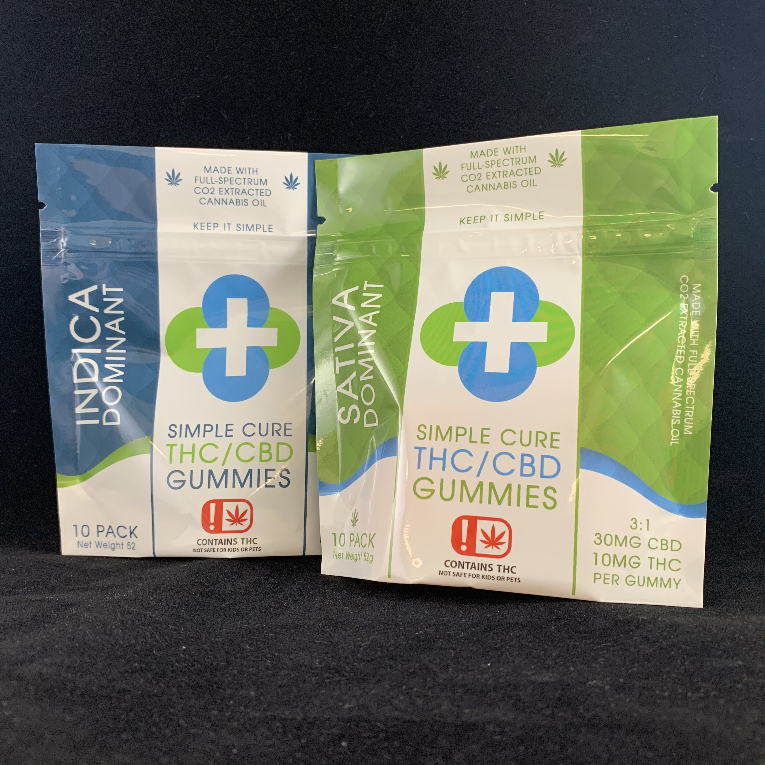 Thc Cbd Edibles Simple Cure Premium Cannabis Extracts