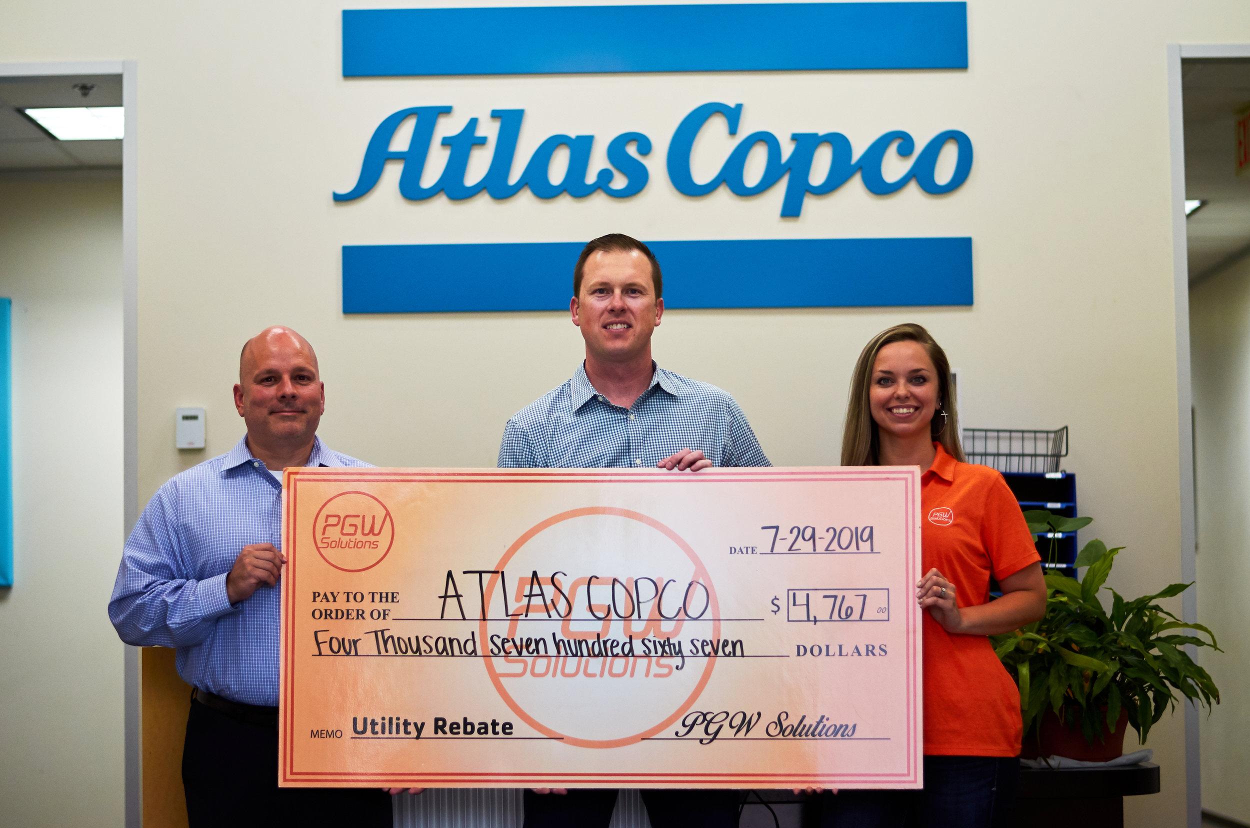 Atlas Copco - $4,767