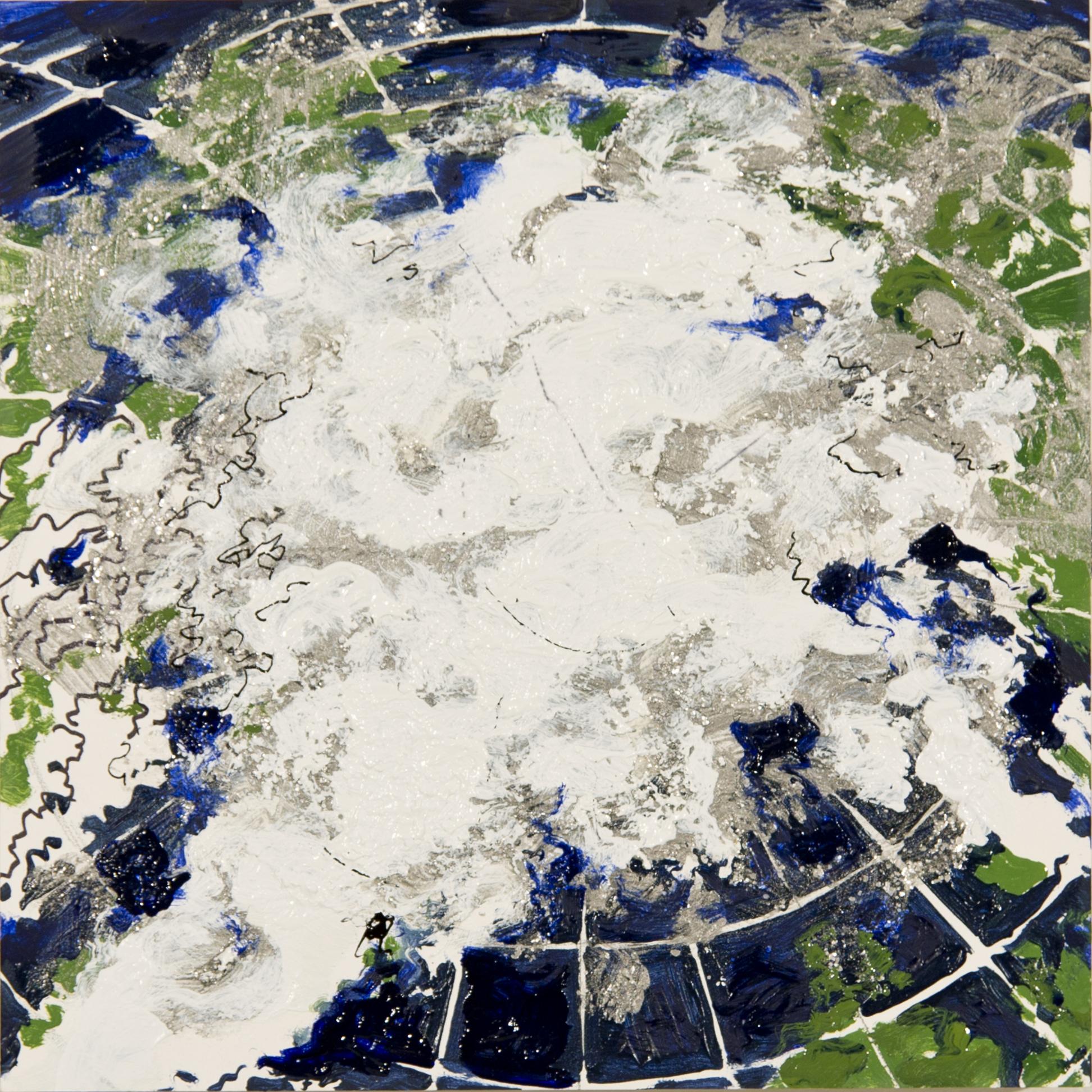 Polar Map 2007 B (After NASA)