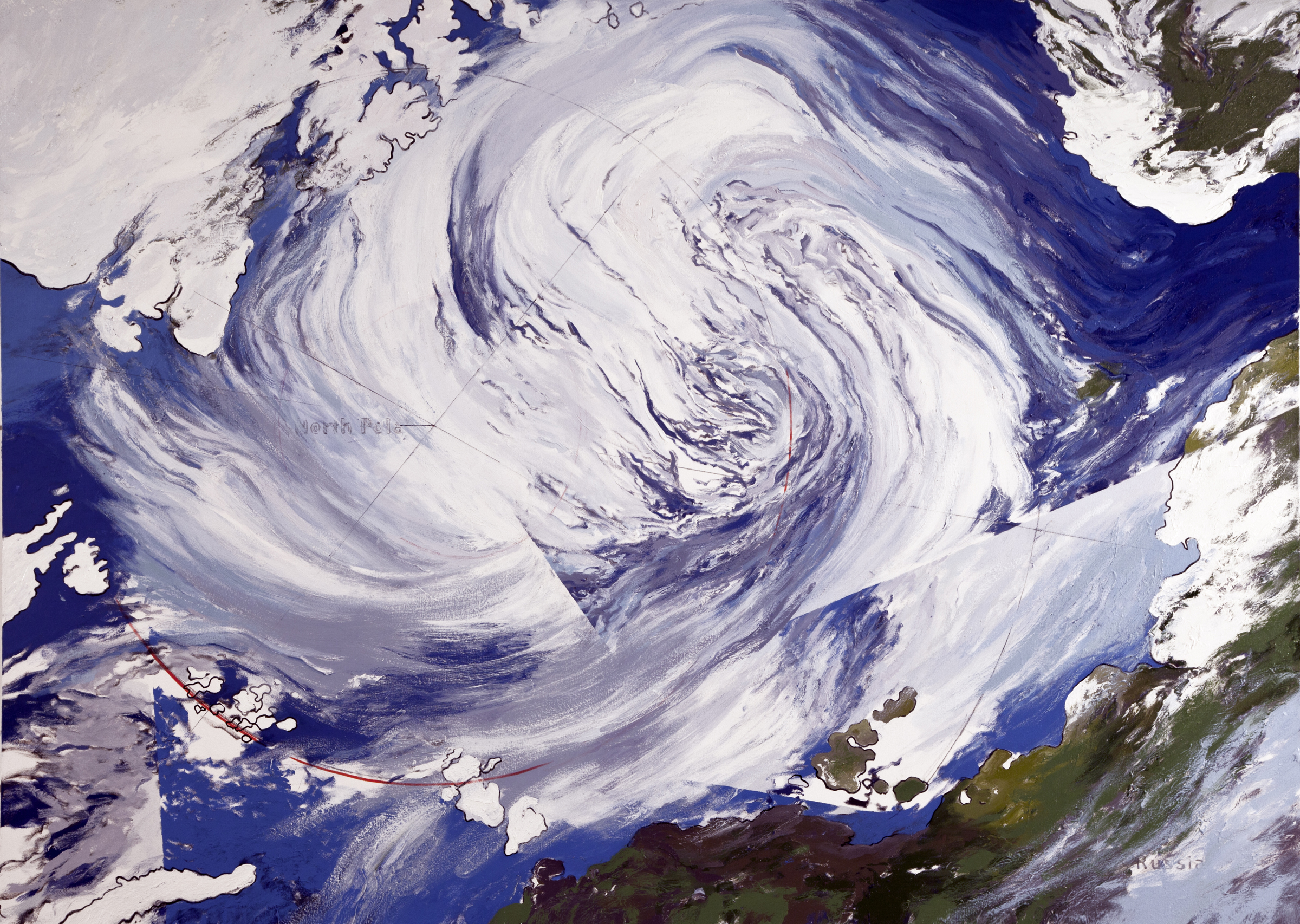 Arctic Cyclone, August 2012 (after NASA)