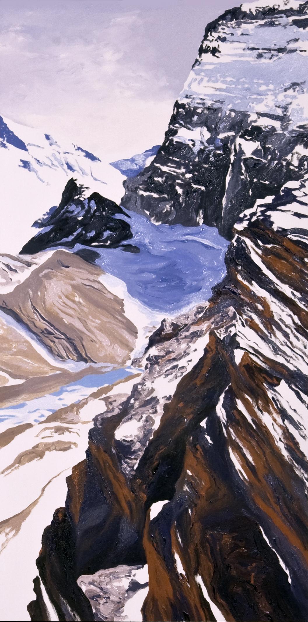 Grinnell Glacier Overlook #4, 2008 after Steven Mather
