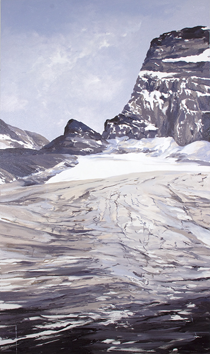 Grinnell North Moraine, 1922, after Elrod Toole