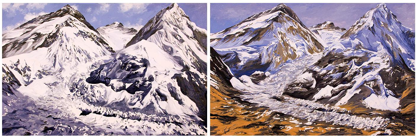 Khumbu Icefall Everest, I & II