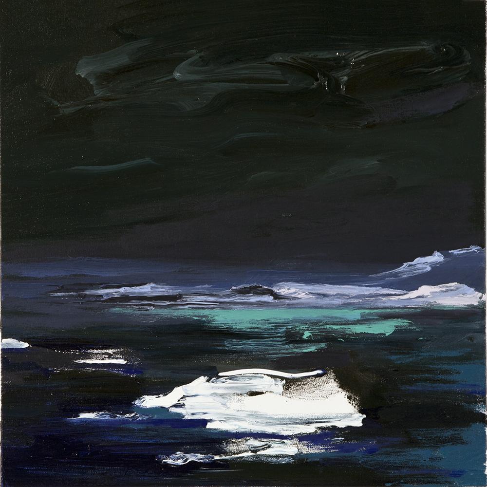 Antarctica Diptych, Night, March 2013