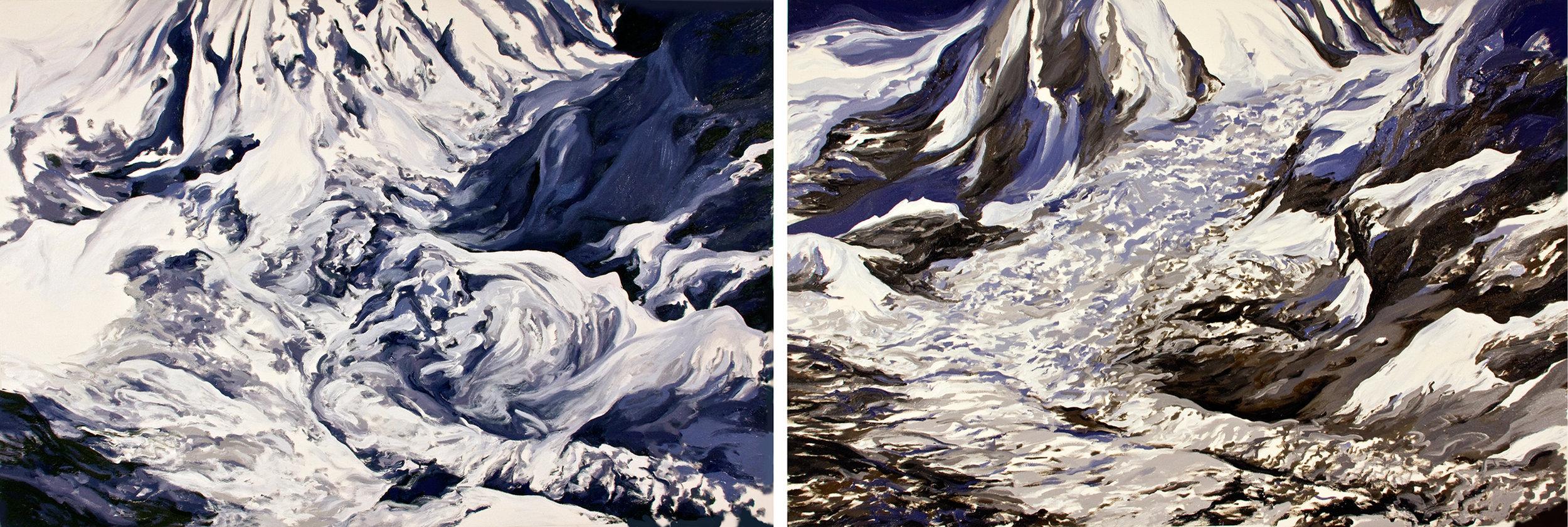 Khumbu Icefall 1, 2
