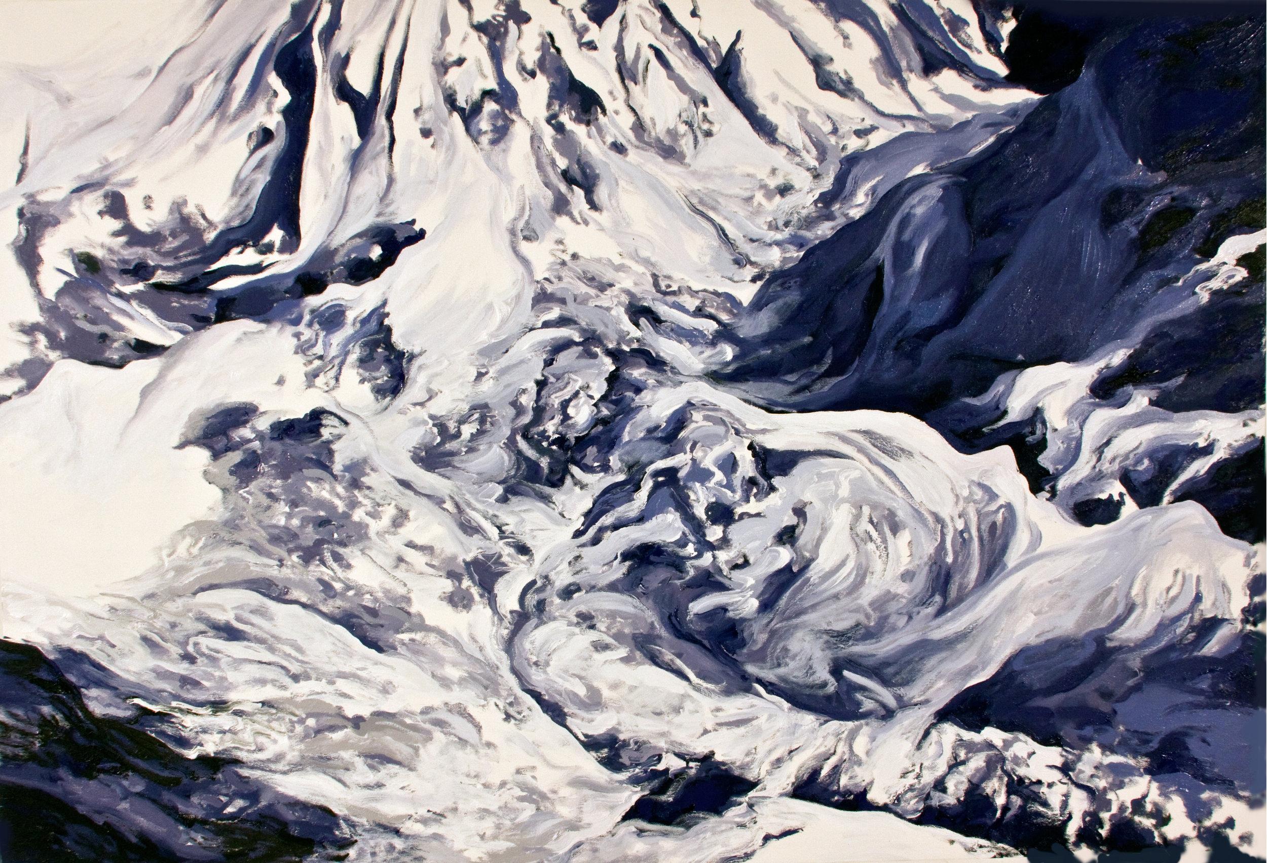 Khumbu Icefall I, 1952 after Jake Norton