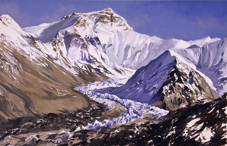 #2, Main Rongbuk Glacier, Tibet, 2007, after David Breashears
