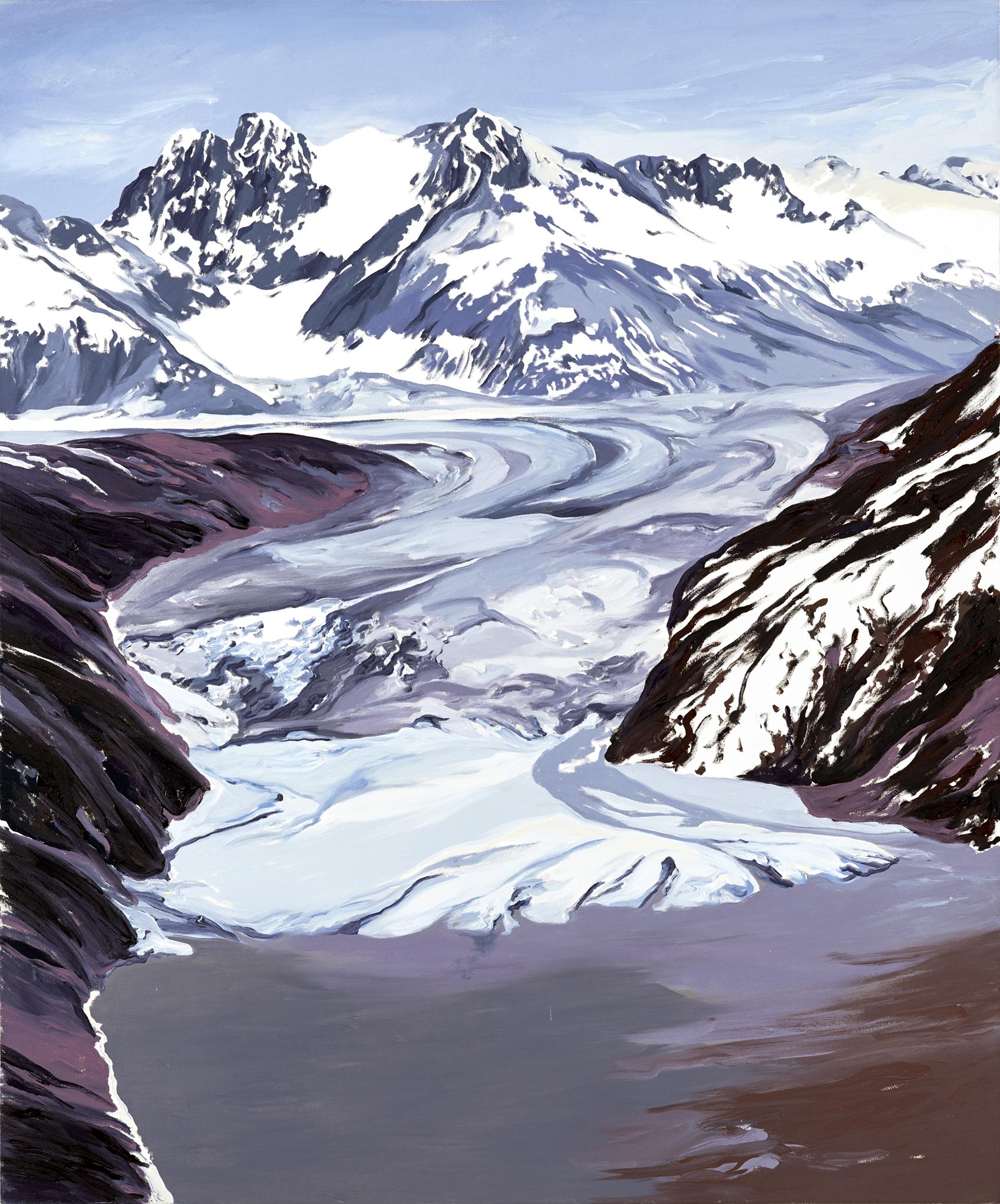 Nunatak Glacier 2005, after David Arnold