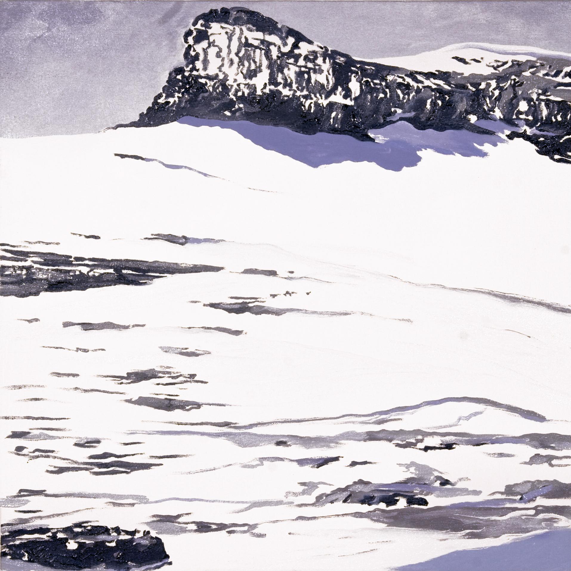Boulder Glacier 1932, after T.J. Tileman