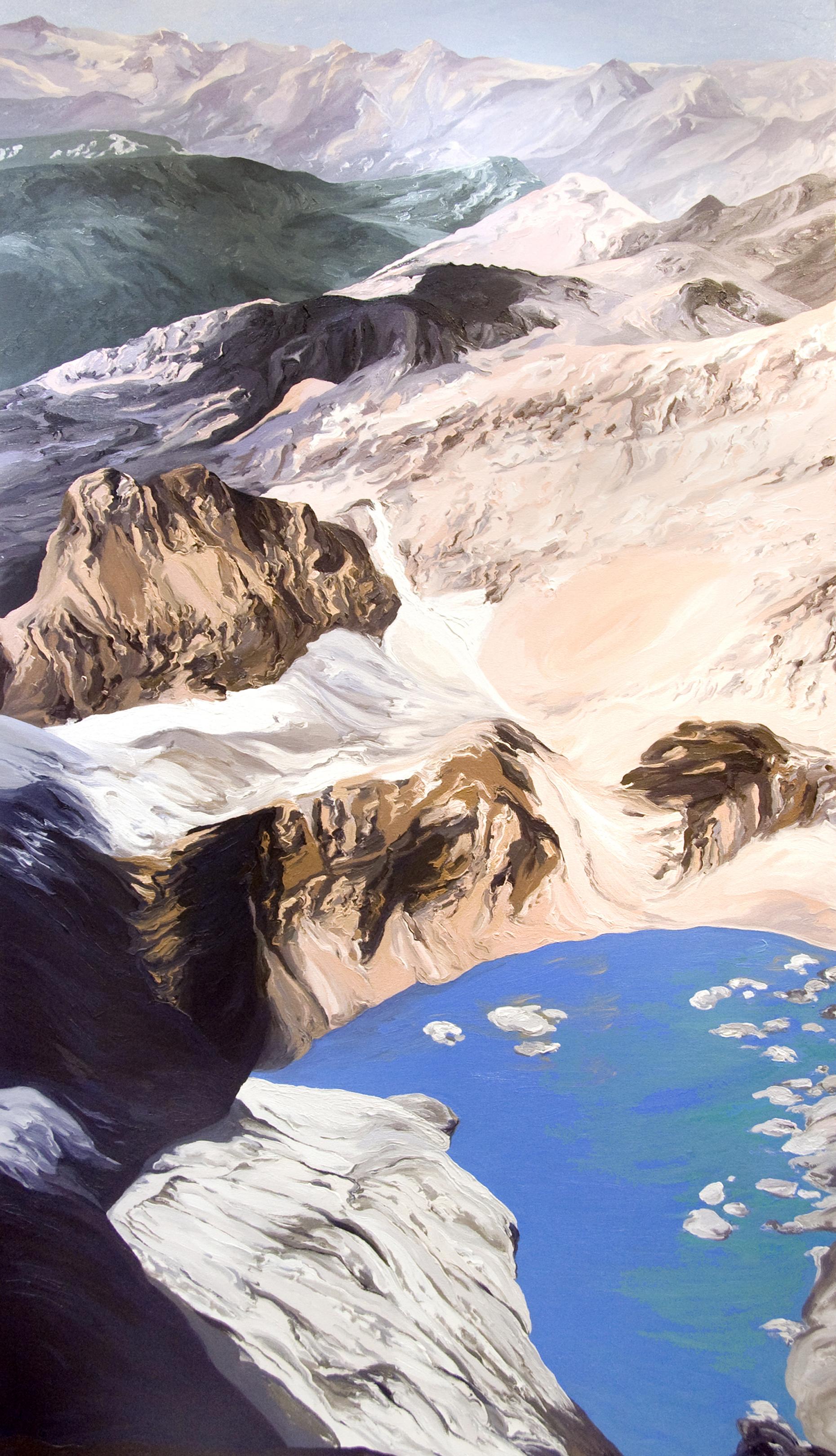 Grinnell Mt. Gould #3 1998 after Dan Fagre USGS