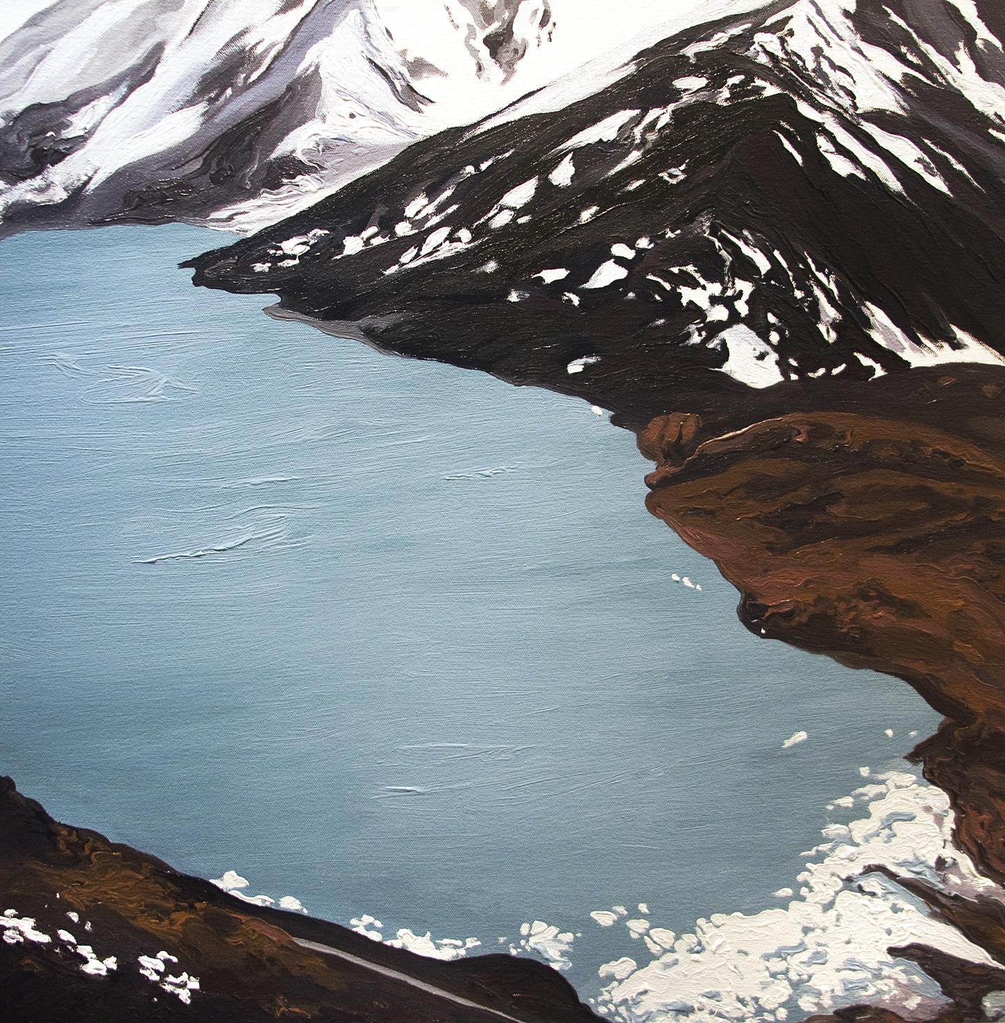 Portage Glacier 2009, after Gary Braasch