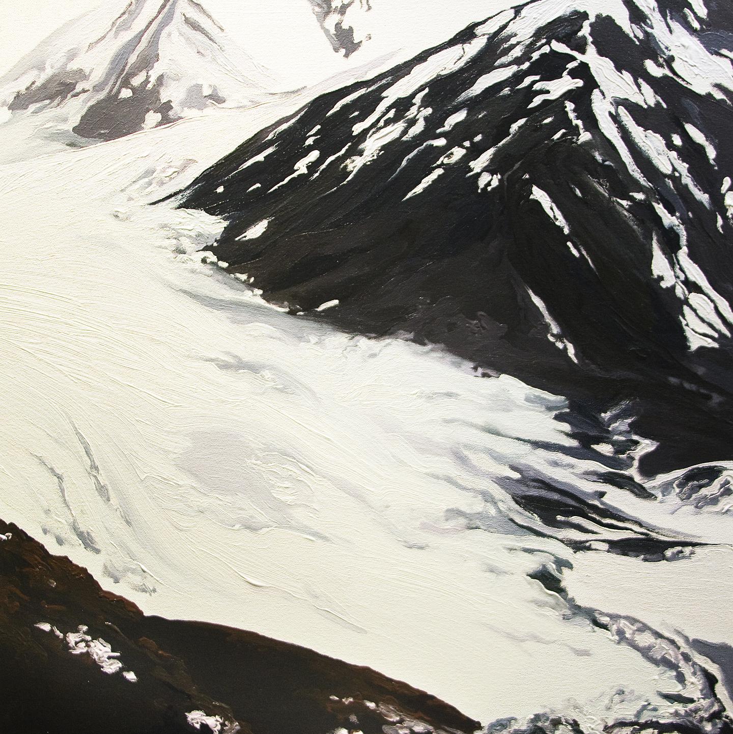 Portage Glacier 1914, after NOAA photo
