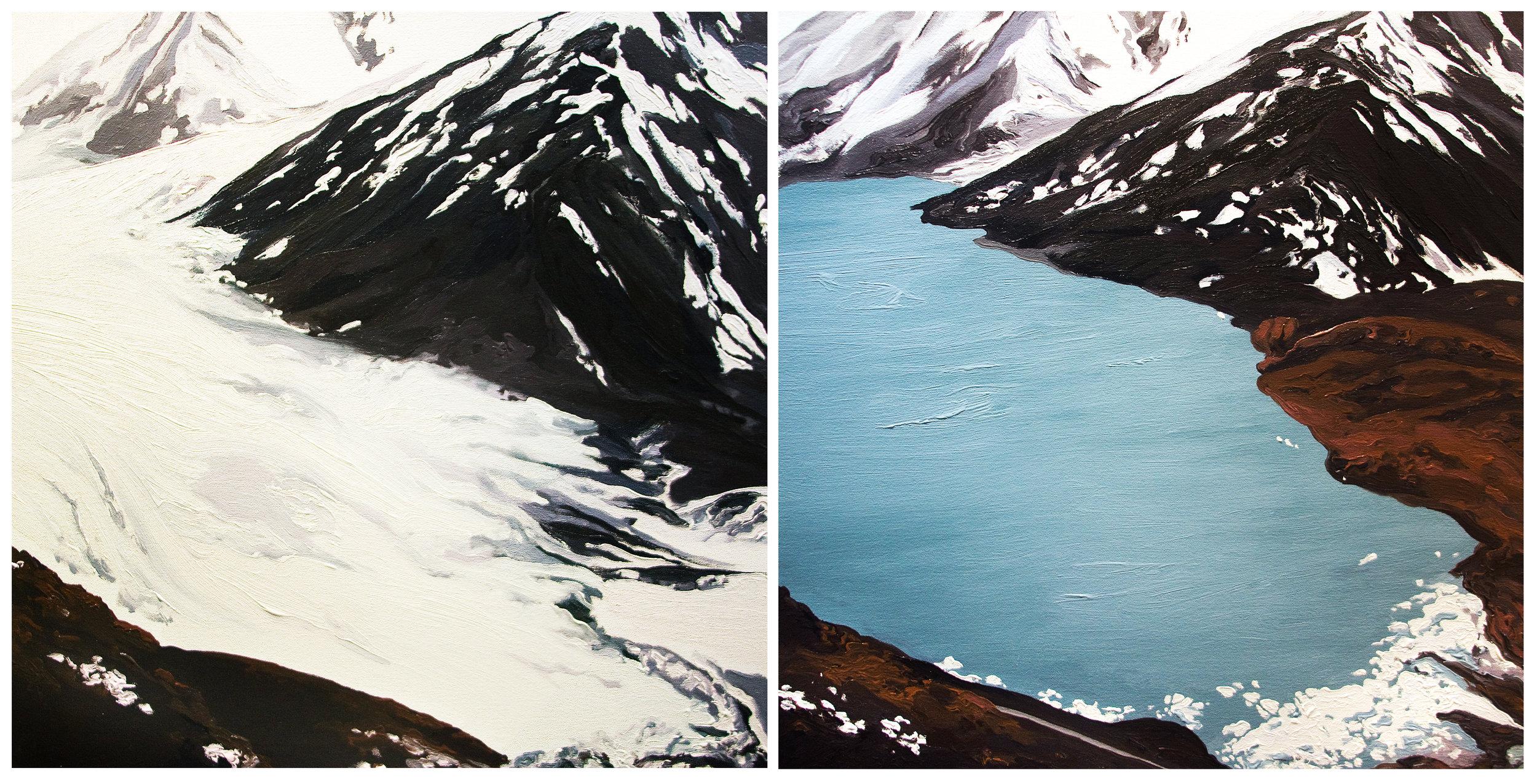 Portage Glacier 1, 2