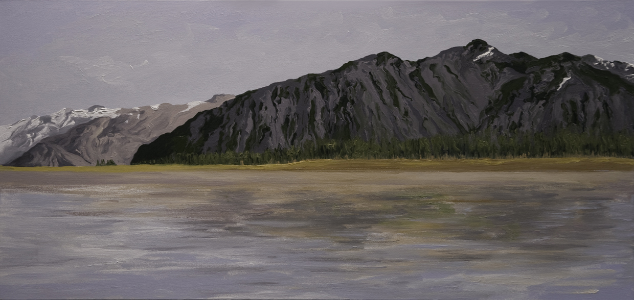 McCarty Glacier #2, 2004, after Bruce Molnia