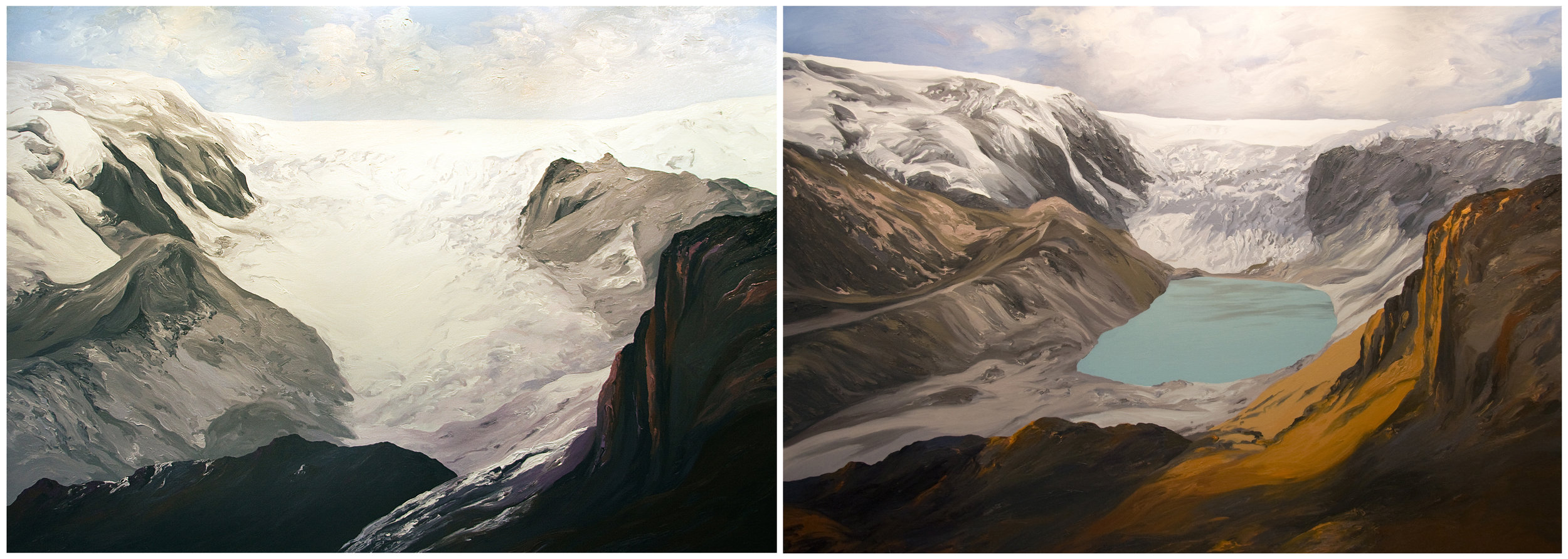 Qori Kalis Glacier 3, 4