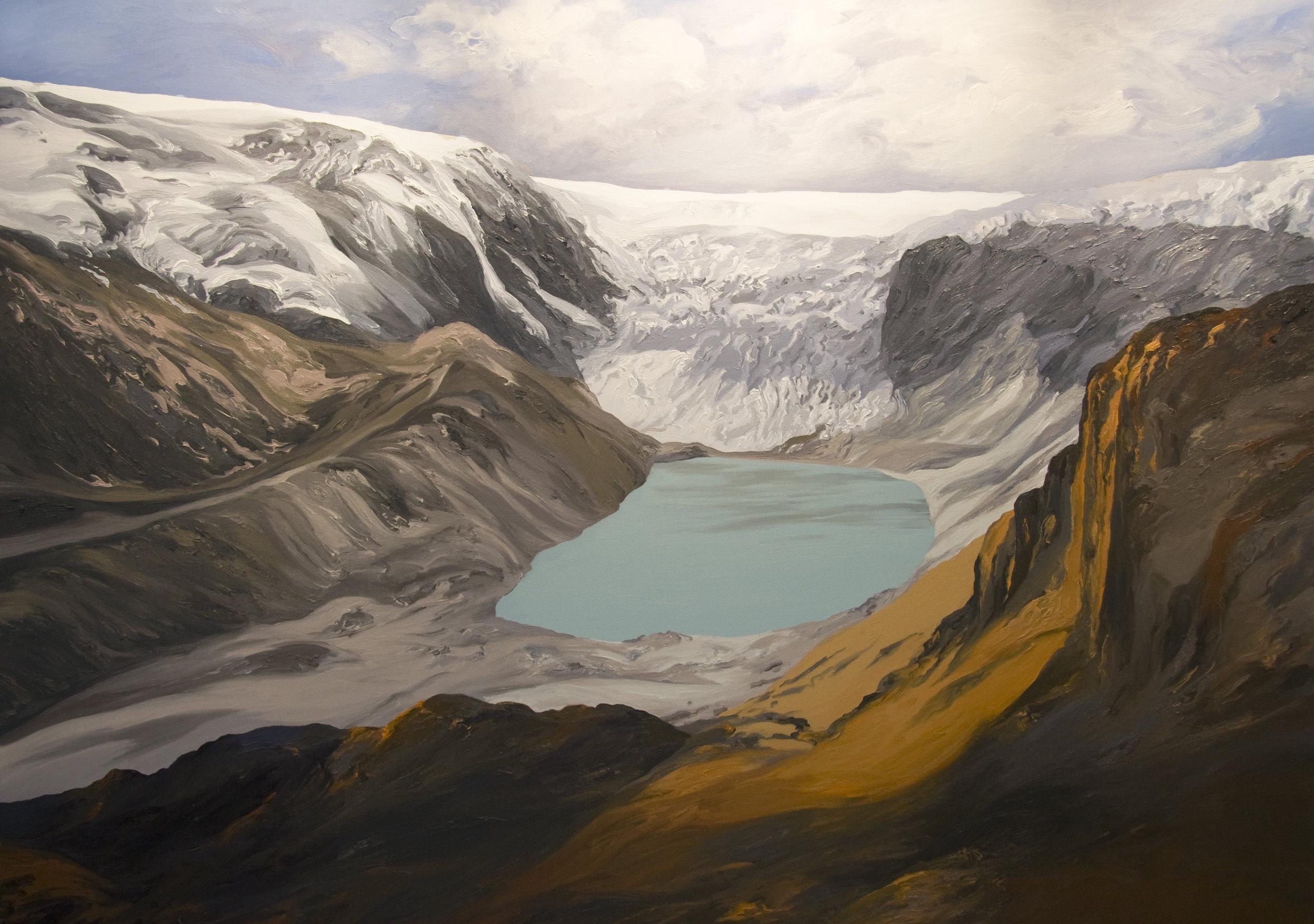 Qori Kalis Glacier #4, 2007, after Henry Brecher