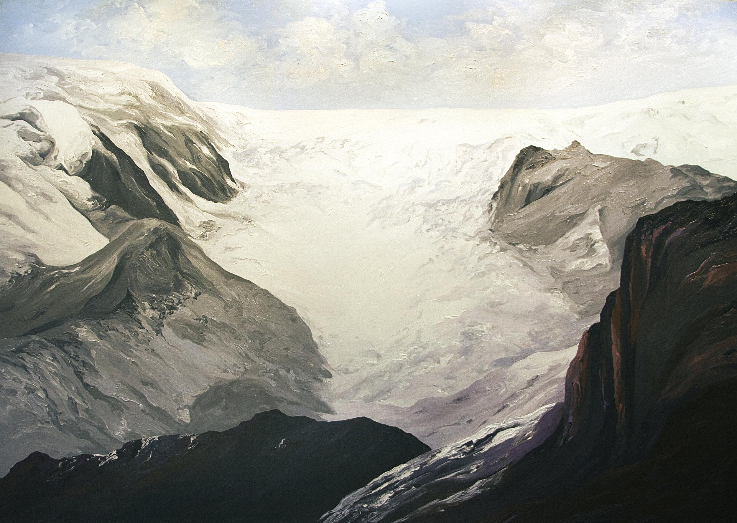 Qori Kalis Glacier #3, 1983, after Henry Brecher