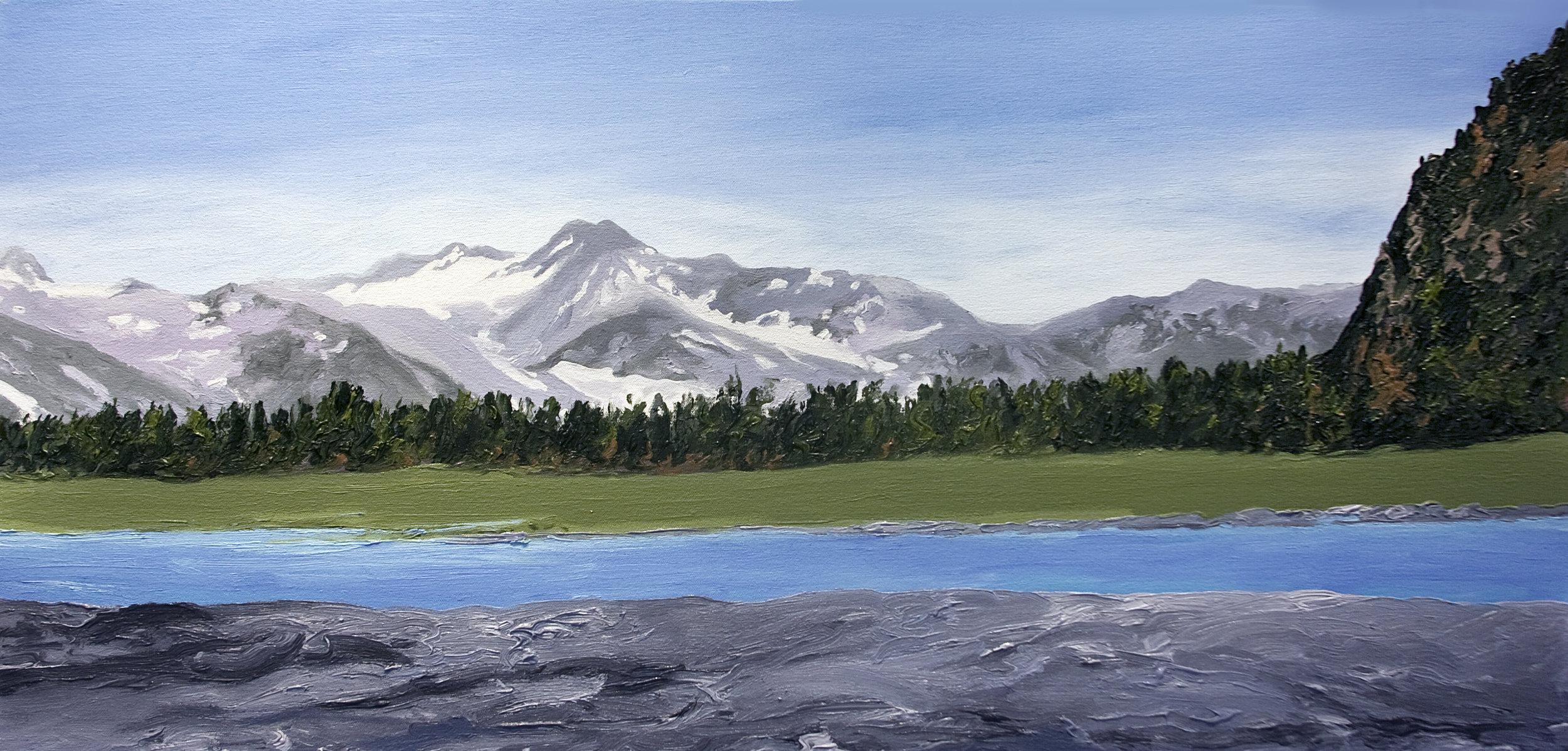 Bear Glacier #2, 2005, after Bruce Molnia