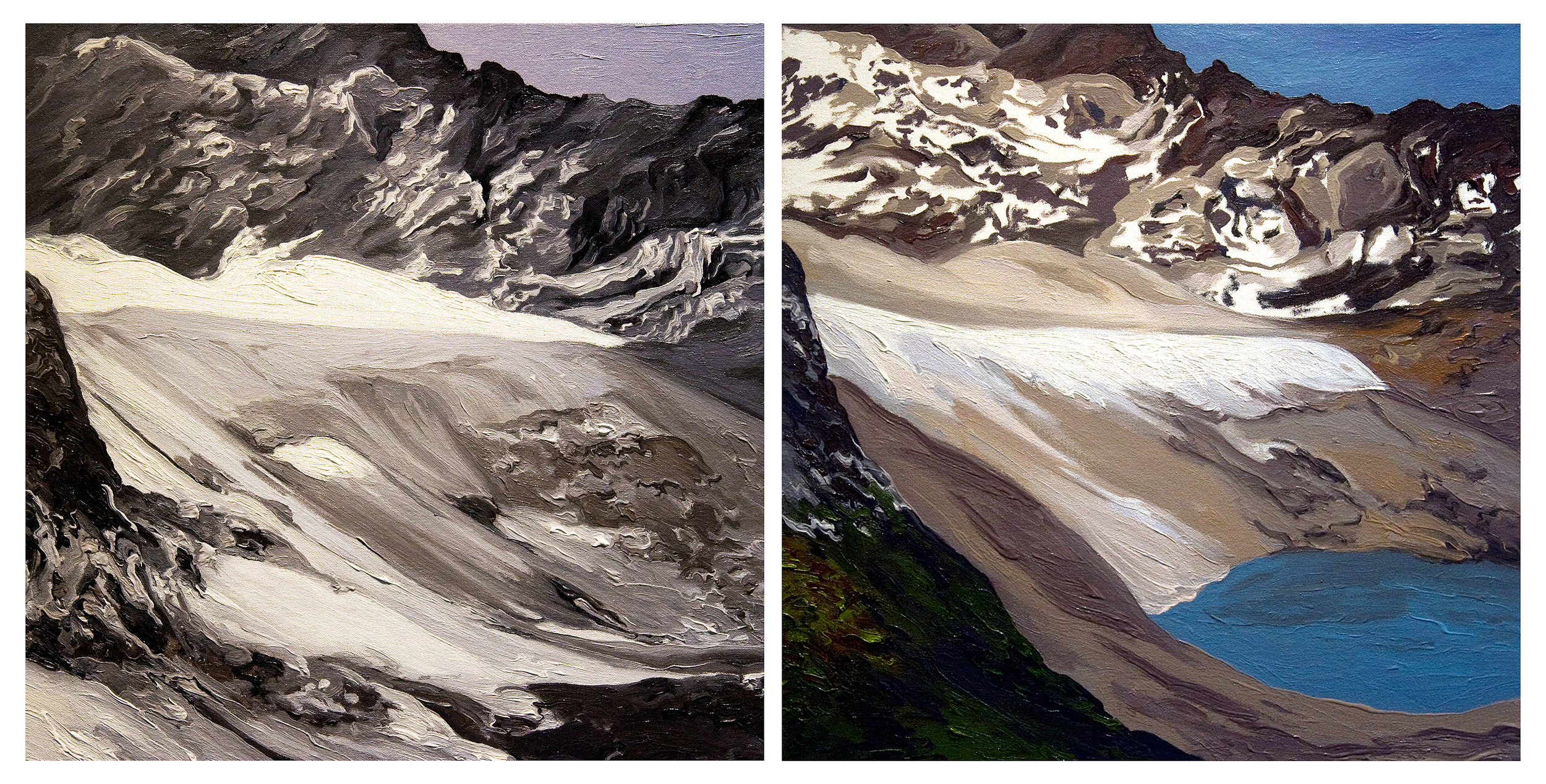 Arapaho Glacier 1, 2