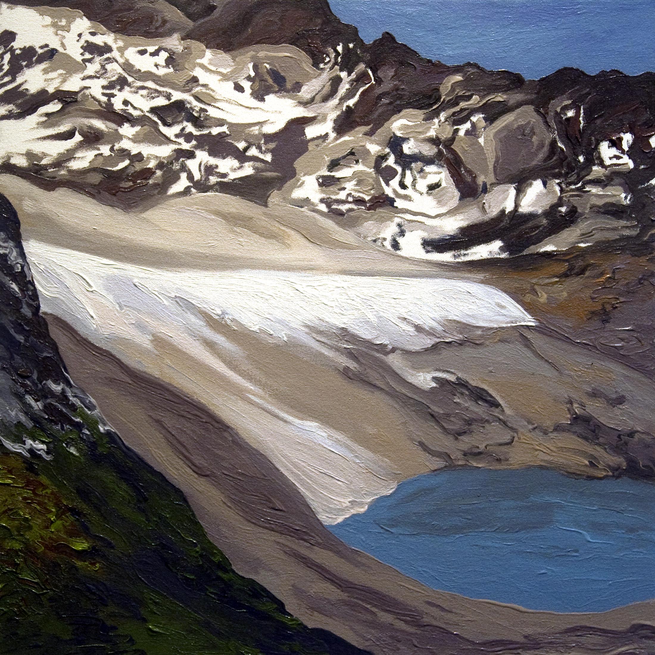 Arapaho Glacier 2002, after Tad Pfeffer