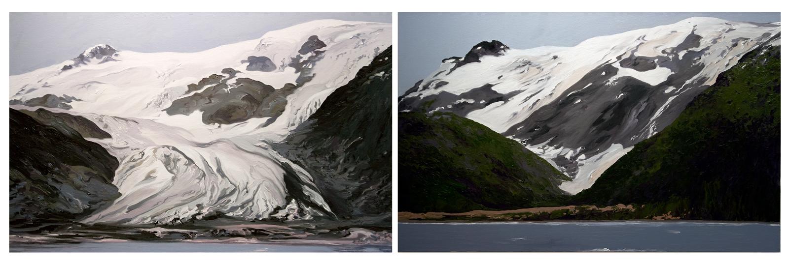 Toboggan Glacier 1, 2