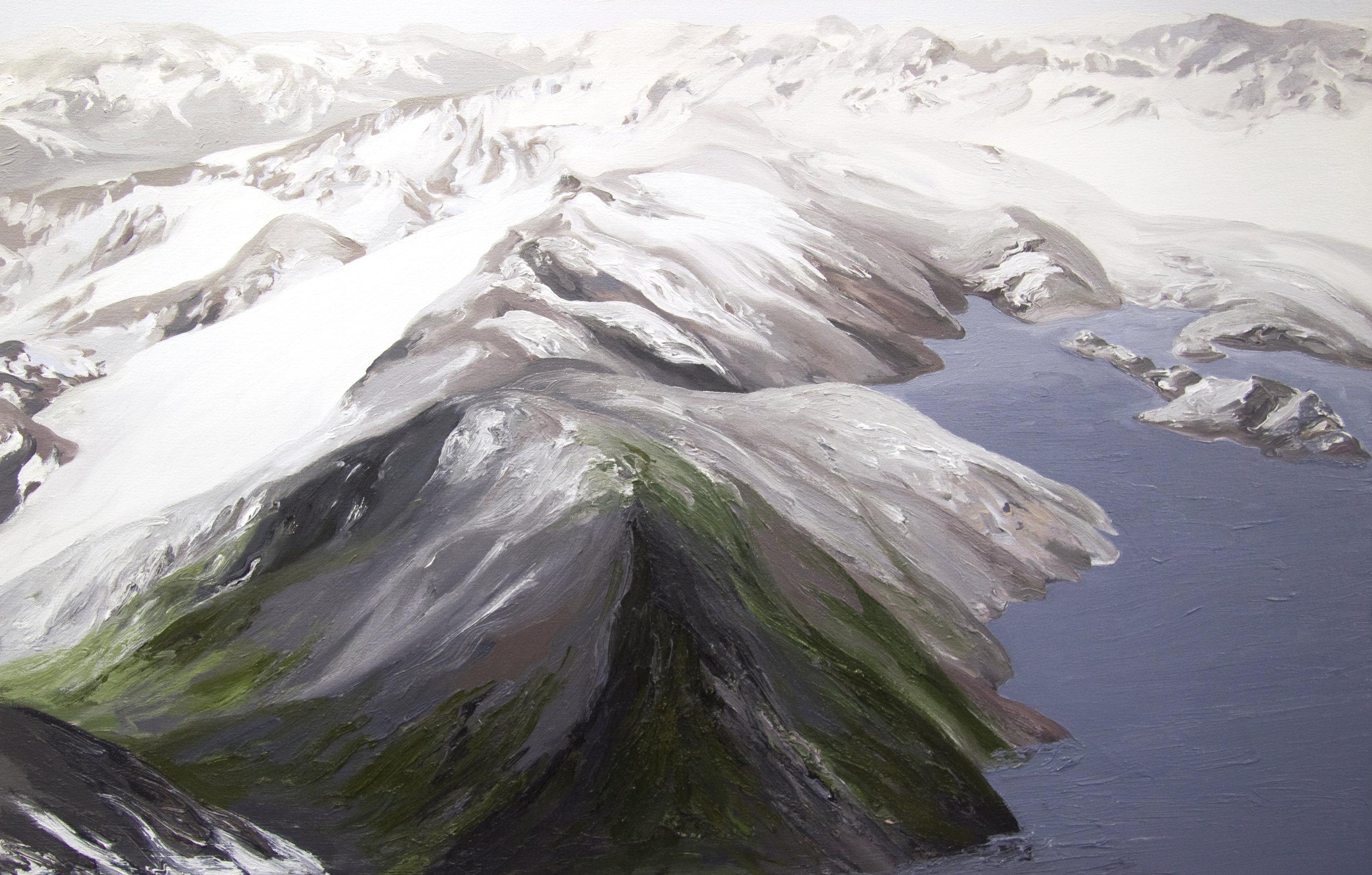 Tebenkof Glacier #2, 2004, after David Arnold