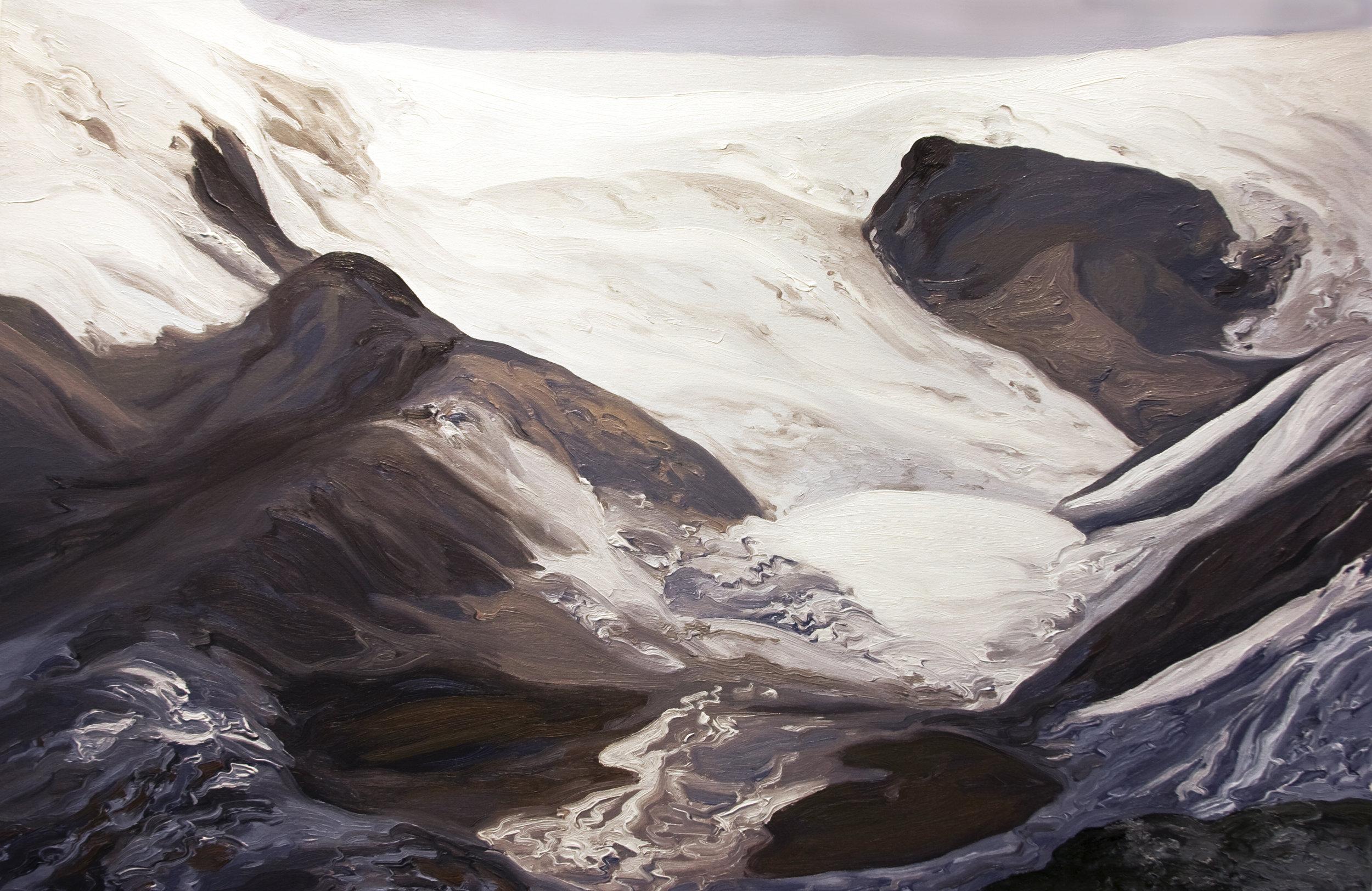 Qori Kalis Glacier #1, 1978, after Henry Brecher