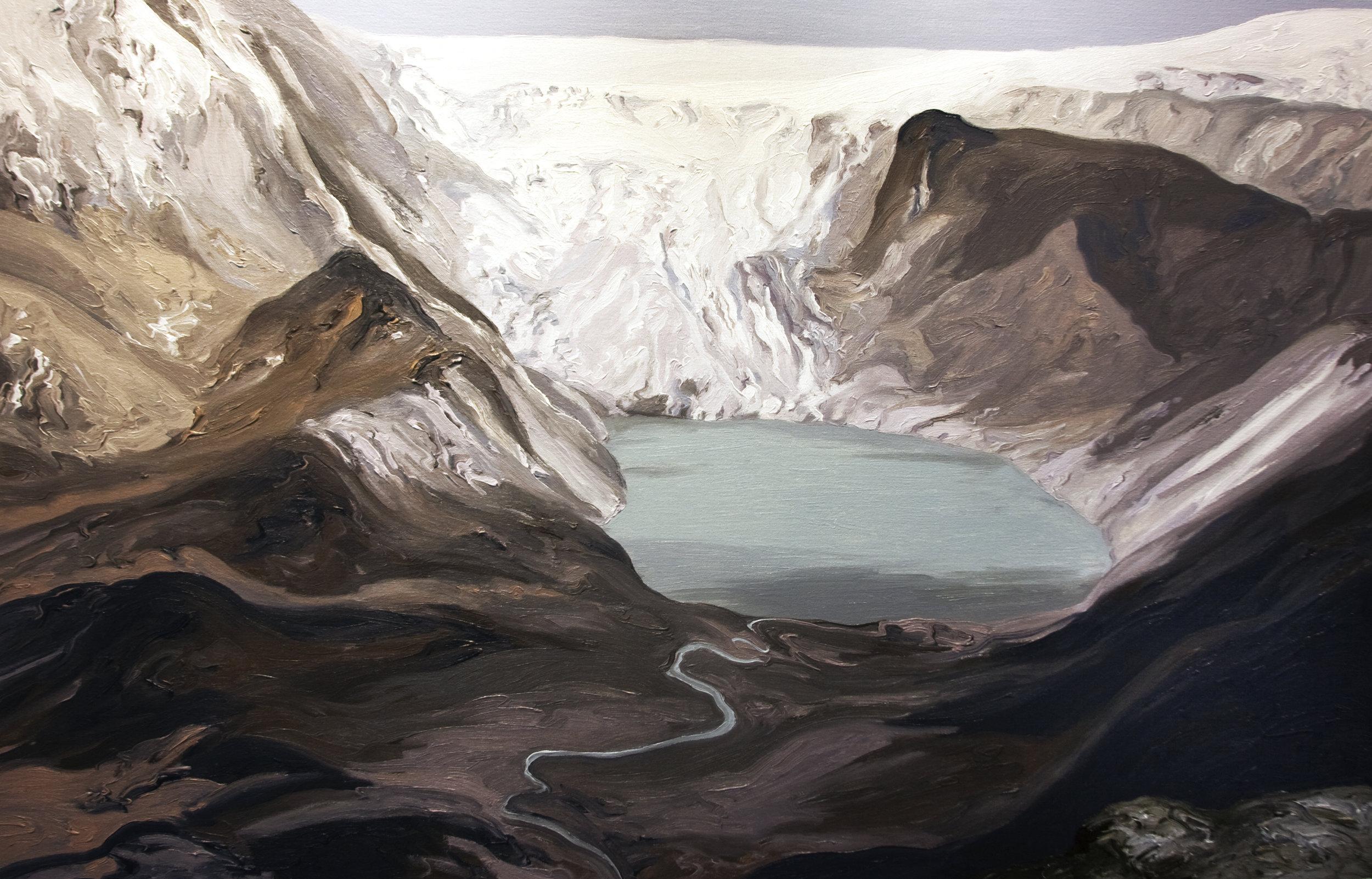 Qori Kalis Glacier #2, 2007, after Henry Brecher