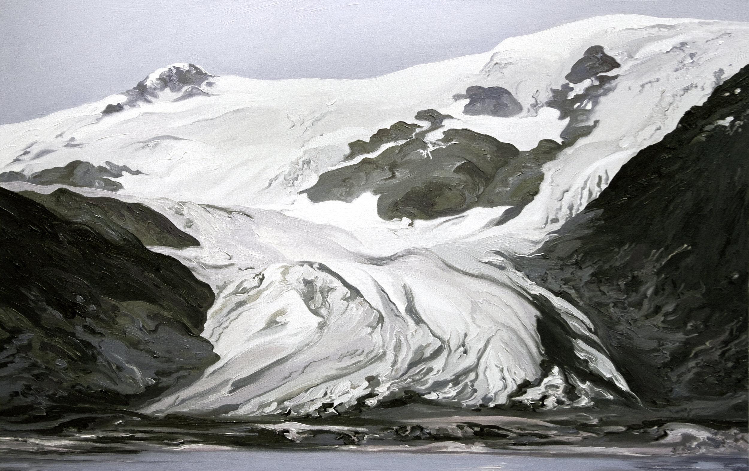 Toboggan Glacier #1, 1909, after Sidney Paige