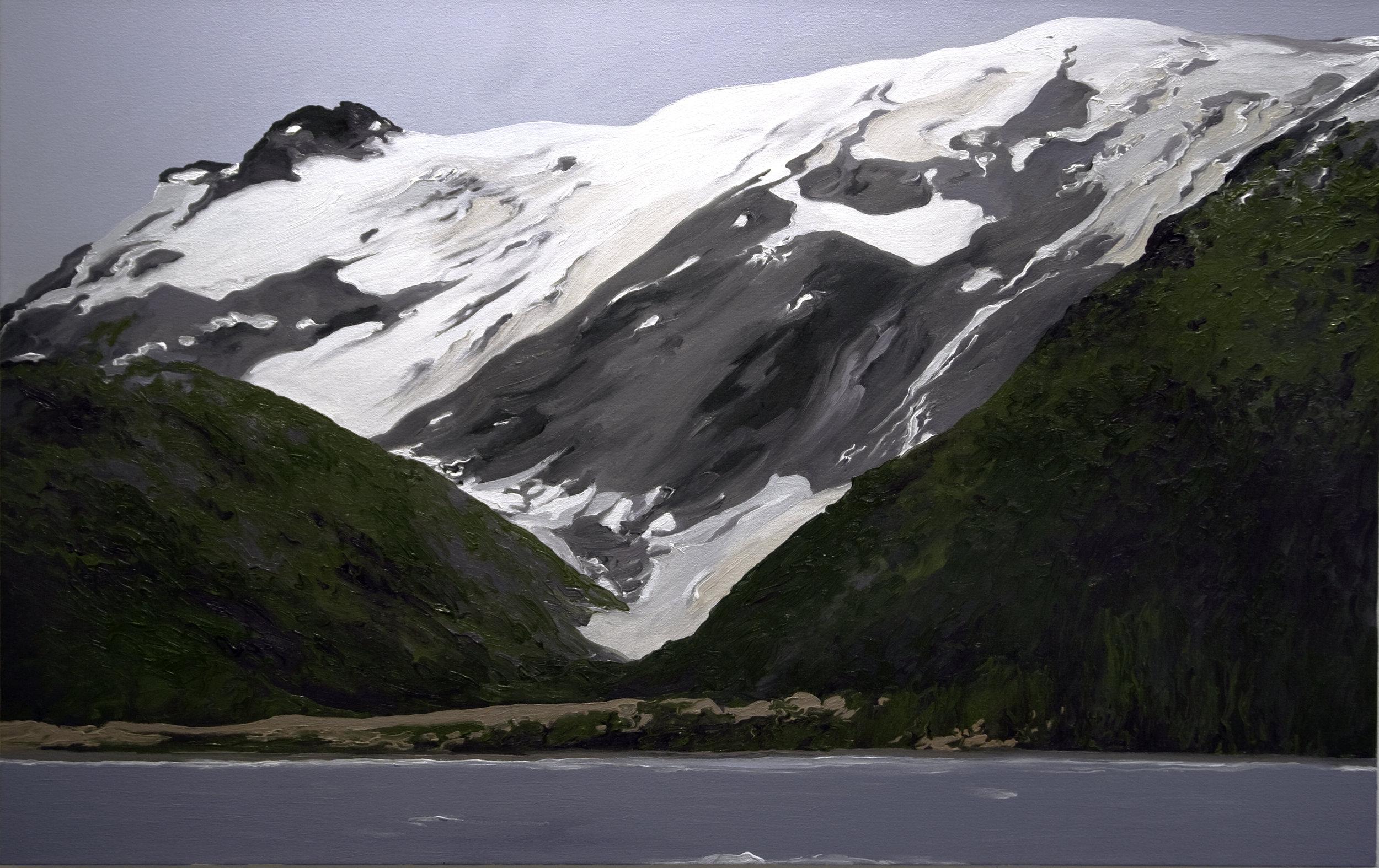 Toboggan Glacier #2, 2000, after Bruce Molnia