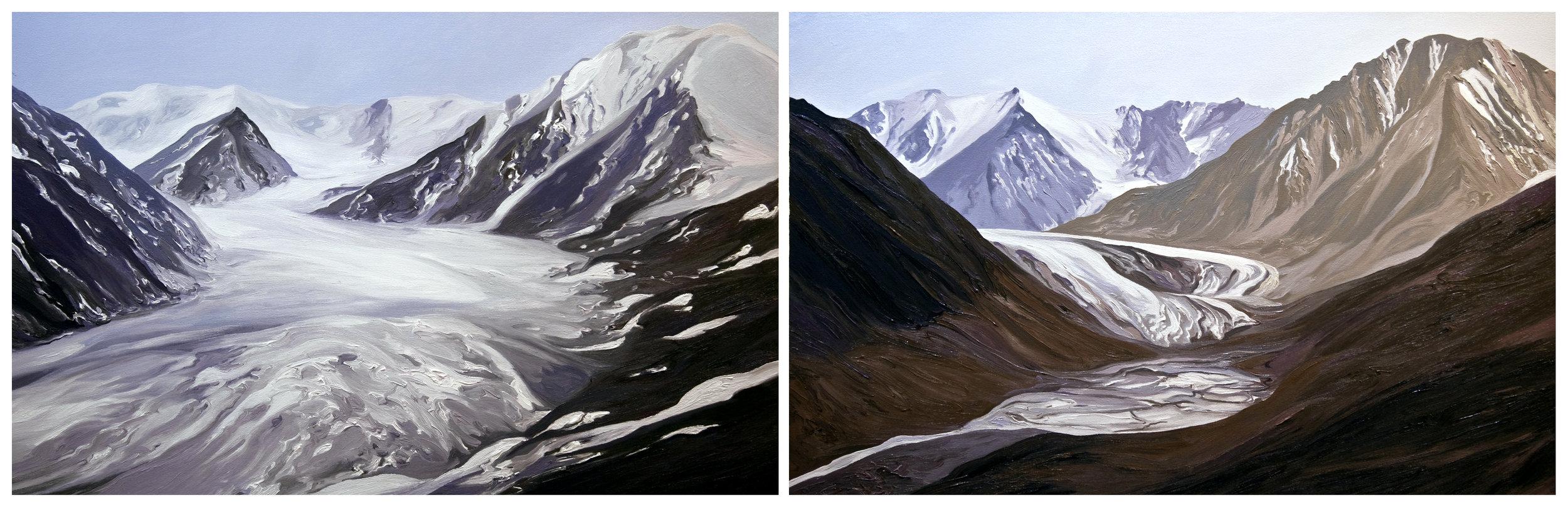 Okpilak Glacier 1, 2