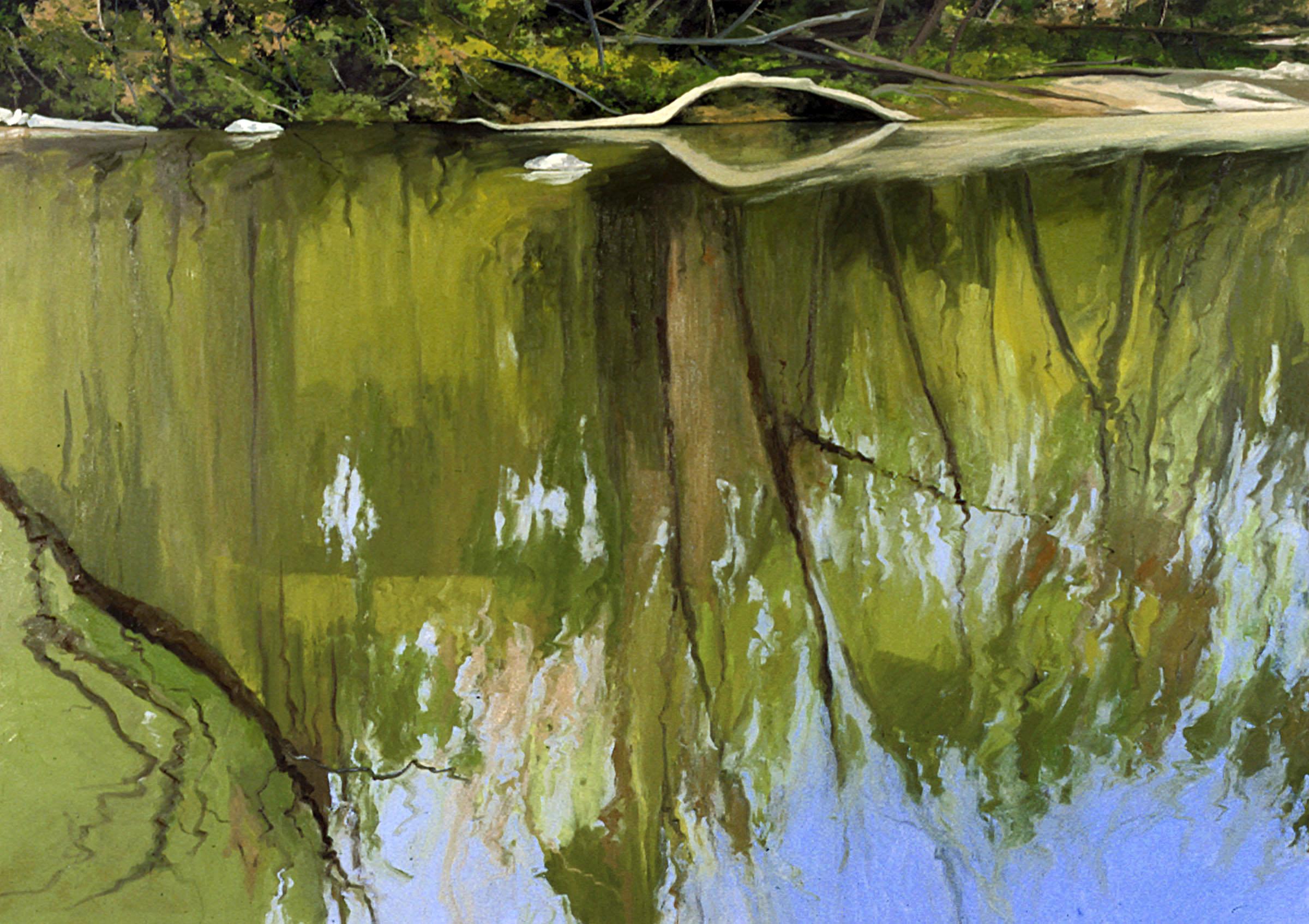 Wissahickon Reflections: East Frieze, No. 1